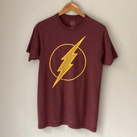 DC Comics Other - DC Comics Maroon Flash Short Sleeve Tee